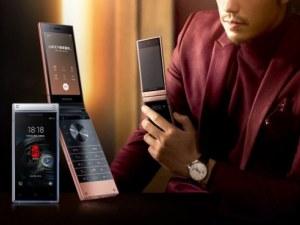 Samsung представи луксозен сгъваем смартфон с цена $1500