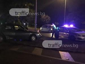 Три коли се нанизаха на пътя Пловдив – Хасково, движението е ограничено