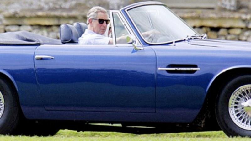 Можете ли да познаете какво гориво използва принц Чарлз за своя Aston Martin! Едва ли!