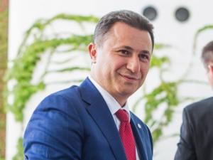 Бившият премиер на Македония вече се издирва с международна заповед
