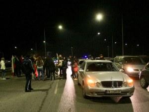 """Протестите продължават! Отново блокираха магистрала """"Люлин"""""""