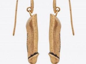 Ив Сен Лоран създаде бижута с формата на пенис