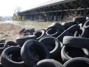 Акция за събиране на стари гуми в Пловдив