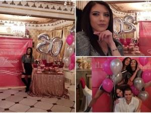 Пловдивчанката Жени Кискинова отбеляза 20-годишния си юбилей с бонбонено парти СНИМКИ