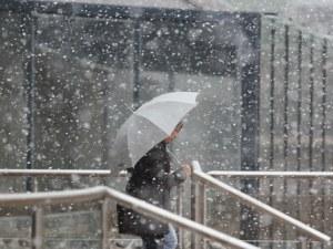 Много дъжд и сняг в Пловдив и областта днес! Обявен е жълт код за опасно време