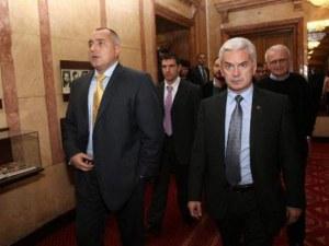 Сидеров се срещнал с Бойко Борисов за бъдещето на коалицията