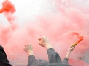 Арестуваха футболен фен по време на мач в Пазарджик