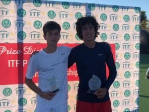 Пловдивски тенис талант със златен дубъл в Пакистан