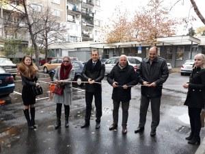 Откриха нов паркинг за 18 автомобила в Кършияка СНИМКИ