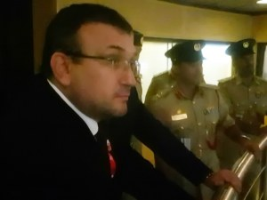 Министър Младен Маринов посети полицията в Дубай СНИМКИ