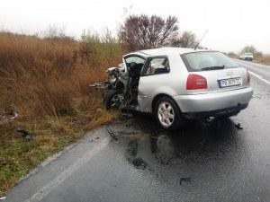 Ясно е състоянието на другия шофьор от жестокото меле край Пловдив СНИМКИ