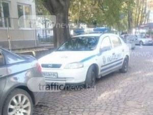 Жена се вряза с автомобила си в паркирана кола край Пловдив, мъж е в болница