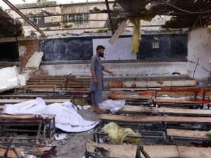 Жестоко кръвопролитие! 50 души загинаха при самоубийствен атентат в Кабул СНИМКИ