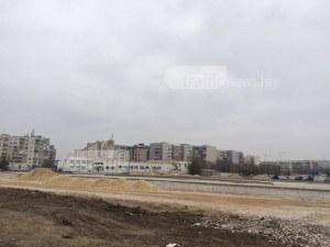 Изграждат паркинг с 400 места пред комплекс в Кючука СНИМКИ