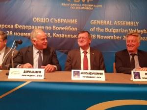 Данчо Лазаров остава начело на волейбола още 3 години