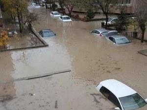 Не ходете в Одрин! Потоп удави града, 70-годишен мъж изчезна