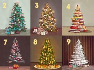 Избери елха и виж каква ще е новата 2019 година за теб