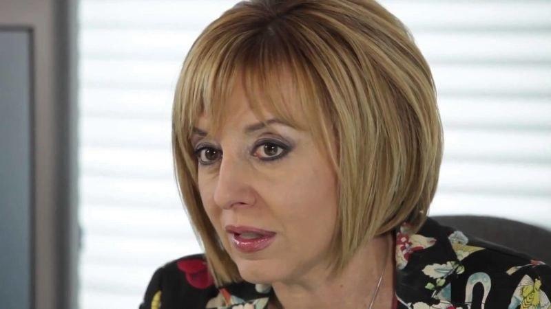 Мая Манолова е сред евентуалните кандидати на БСП за кмет на София