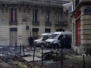 Погром в Париж след протестите! Френската столица като след война СНИМКИ и ВИДЕО