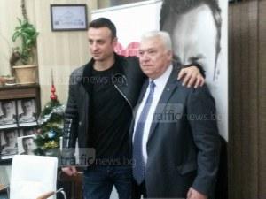 Бербо в Пловдив: Книгата ми ще хареса на младите, които имат амбицията да успеят