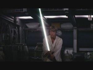 Продават на търг светлинния меч на на Люк Скайуокър