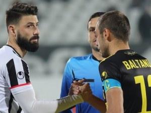 Локо - Ботев 0:0 на почивката, отмениха гол на черно-белите