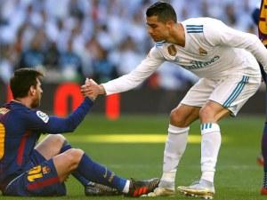 """Роналдо няма да седне до Меси на """"Бернабеу"""""""