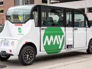 Тръгва първият самоуправляващ се градски транспорт