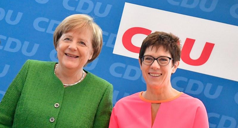 Ерата на Ангела Меркел в ХДС свърши, Анегрет Крамп-Каренбауер я наследи