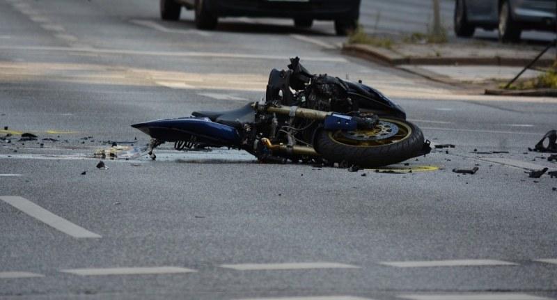 Моторист пострада при катастрофа край Пловдив, след болницата го арестуваха