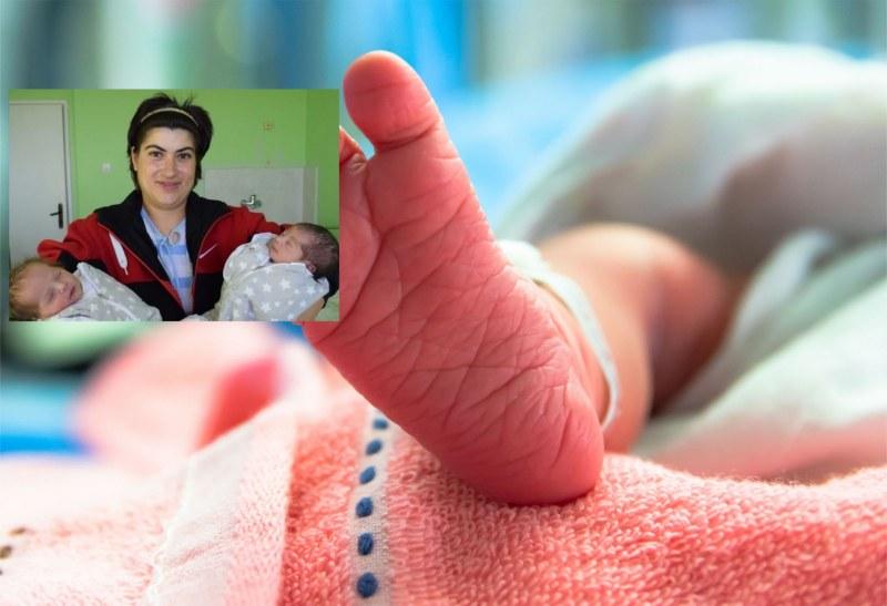 Навръх Никулден жена роди близначета в две населени места