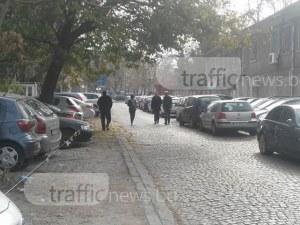 Пловдивчанин: Няма място за пешеходци в центъра, заради паркинг на държавни служители СНИМКИ
