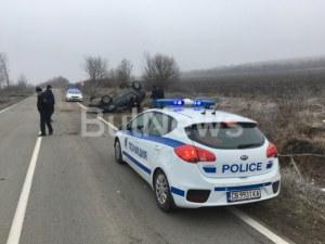 Жена загина в жестока катастрофа край Враца СНИМКИ