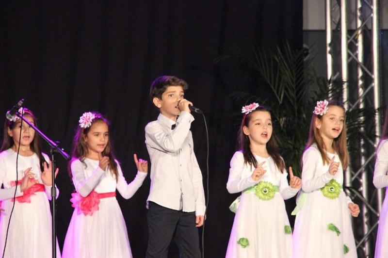 Пловдивска вокална формация на финал на Детска мелодия на годината СНИМКИ