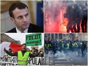 Макрон обявява извънредно икономическо положение във Франция