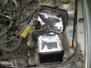 Намериха голямо количество наркотици, скрито в акумулатора на кола