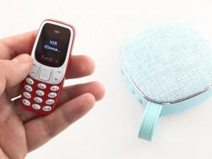 Вижте най-малкия телефон в света, който дори има Facebook СНИМКИ