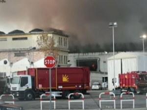 Голям пожар в Рим, градът е обгазен ВИДЕО