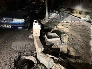Пловдивчанка е в болница, след като падна в шахта СНИМКИ и ВИДЕО