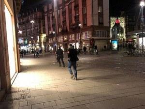 Стрелецът в Страсбург все още е на свобода, евродепутатите блокирани в парламента СНИМКИ