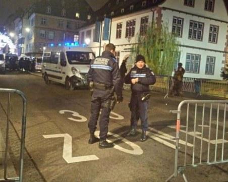 Арестуваха пет души за атентата в Страсбург, нападателят още се издирва