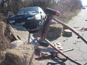 Кьоркютук пиян каруцар предизвика катастрофа в Първомай
