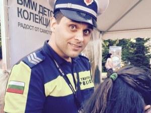 """Полицаят, спасил дете в Пловдив, стана  """"Полицай на годината 2018"""" СНИМКИ"""