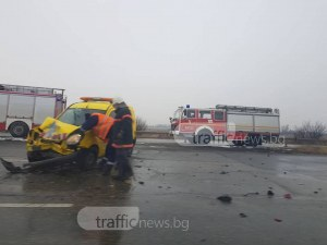 Тежка катастрофа на Околовръстния път на София