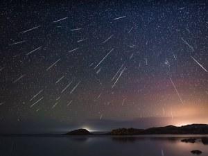 Красота! По 100 падащи звезди на час от метеорния поток Джеминиди ВИДЕО