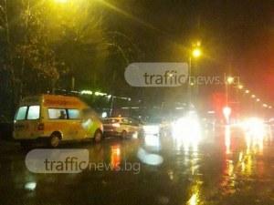 Две коли се удариха в Тракия! Инцидент блокира и пътя Пловдив-Карлово СНИМКА