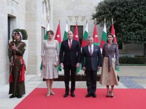 Кралят на Йордания прие поканата на Радев да посети България СНИМКИ