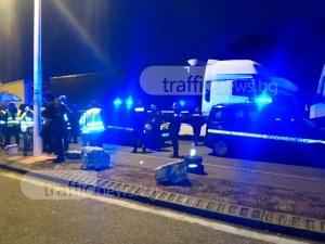 Протестиращи във Франция блокираха български камиони, чупят стъкла и палят гуми СНИМКИ и ВИДЕО