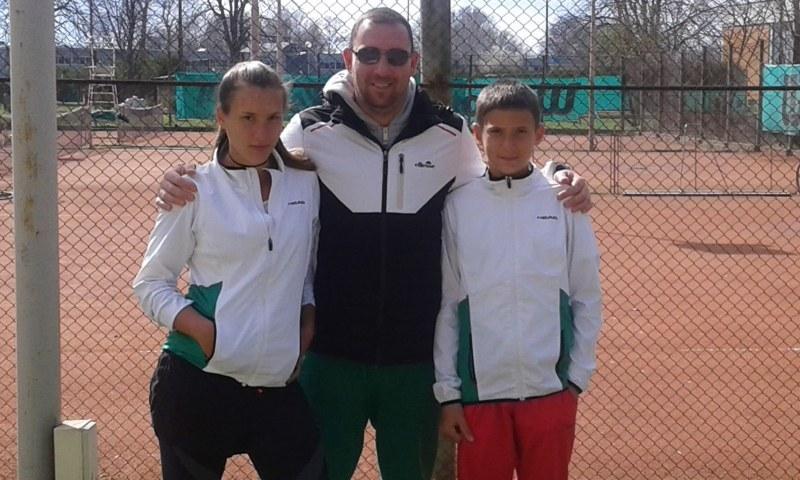Пловдивски тенис таланти с две титли и второ място от държавното