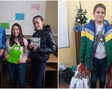 Пловдивско училище раздава доброта за Коледа